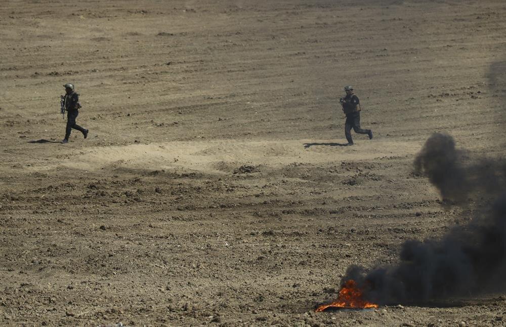 Tatbikat kapsamında hazırlanan senaryo gereği, alana zırhlı araçlarla sevk edilen Türk ve Iraklı askerler, düşman mevzilerinin etrafını üç taraftan sardı. Daha sonra askerler zırhlı araçlarla yaklaştıkları mevzileri ele geçirdi.