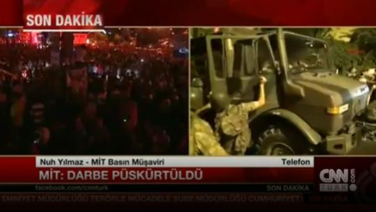 MİT: Darbe püskürtüldü!
