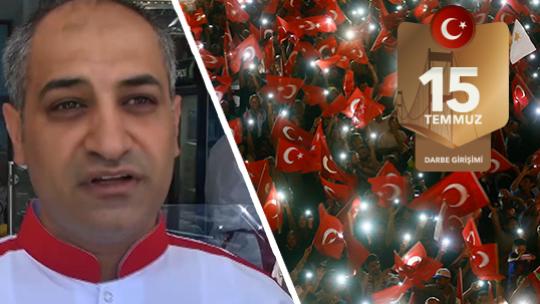 Türkiye'yi uçurumun kenarından ilahi bir el çekti