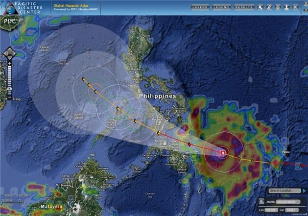 The Philippines declared a state of emergency during a tropical storm that killed 2,500 people and caused cost $100 million in damage in six days.