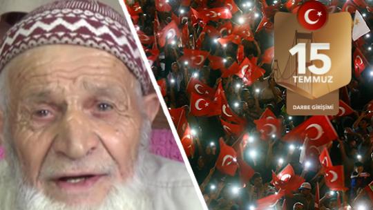 88 yaşındaki Eteş: Bunlar iman kuvvetinin işi