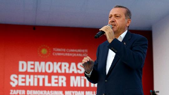 Erdoğan's 'Yenikapı' speech