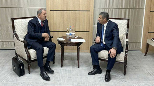 Turkish, Azerbaijani defense chiefs discuss strategic partnership at historic Zangilan meeting