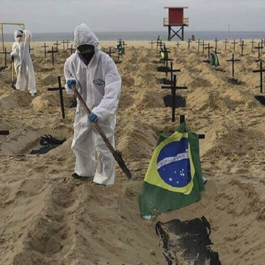 Brazil exceeds 400,000 COVID-19 deaths