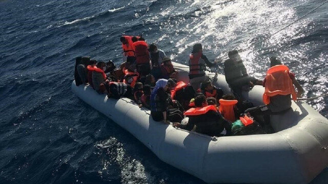 Turkey rescues 18 asylum seekers pushed back by Greece