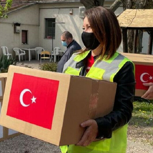 Turkish charity gives relief hampers to 1,000 Zambian families