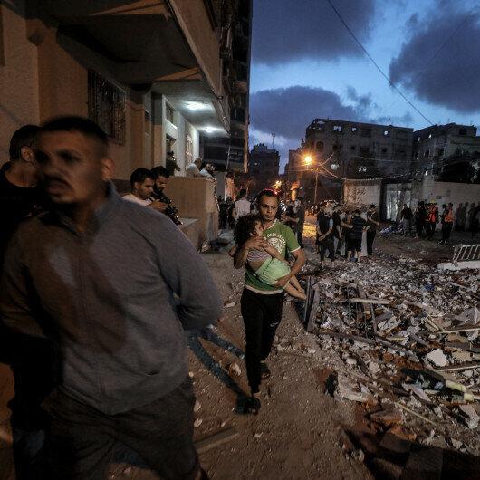 Turkey strongly condemns Israeli air raids on Gaza Strip
