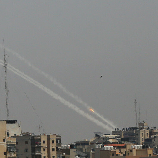 Hamas fires rocket into Israel amid tension