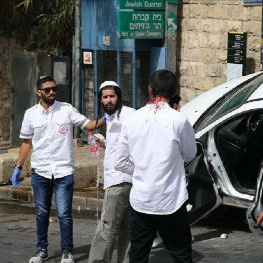 Israeli settler runs car over Palestinian