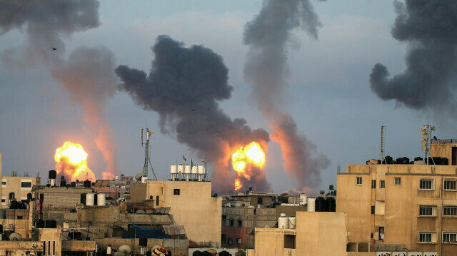 Israel downs drone fired from blockaded Gaza City