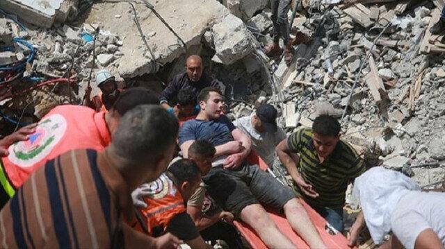 Israeli attacks in Palestine