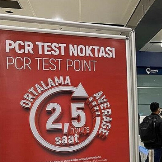 Turkey to drop PCR test obligation for visitors from 16 countries, regions
