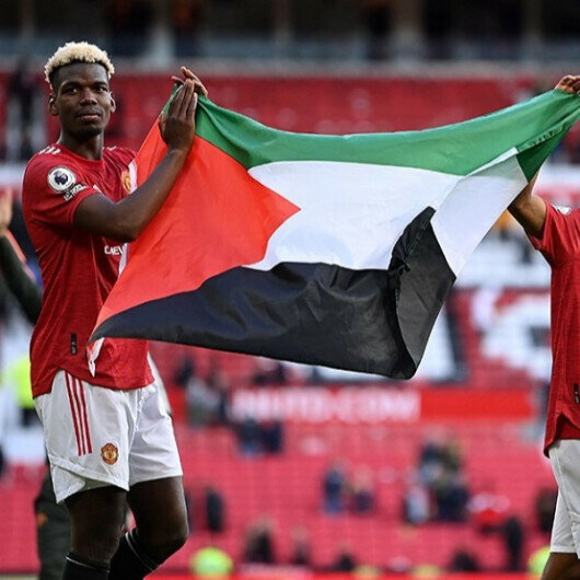 Muslim soccer stars Pogba, Diallo carry Palestinian flag in solidarity with Gaza against Israeli attacks