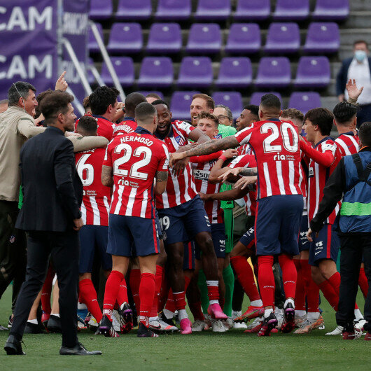 Atletico Madrid clinch Spanish La Liga title