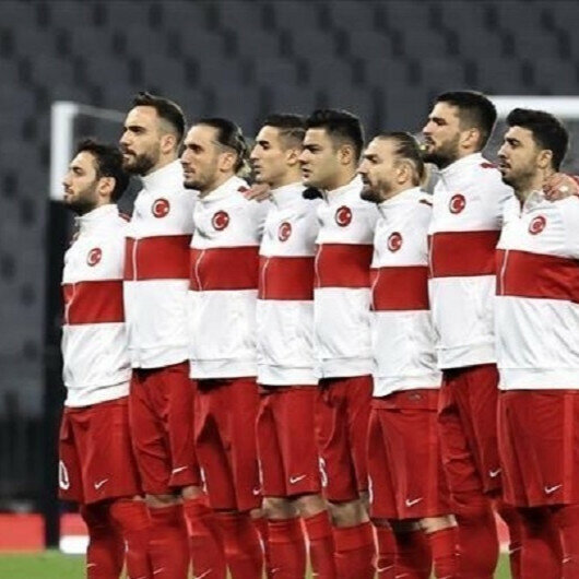 Turkish national football team vaccinated
