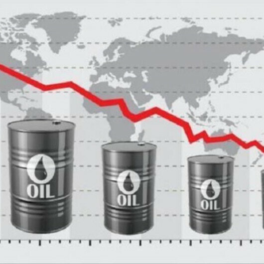 Oil down as demand falls in major oil importer India