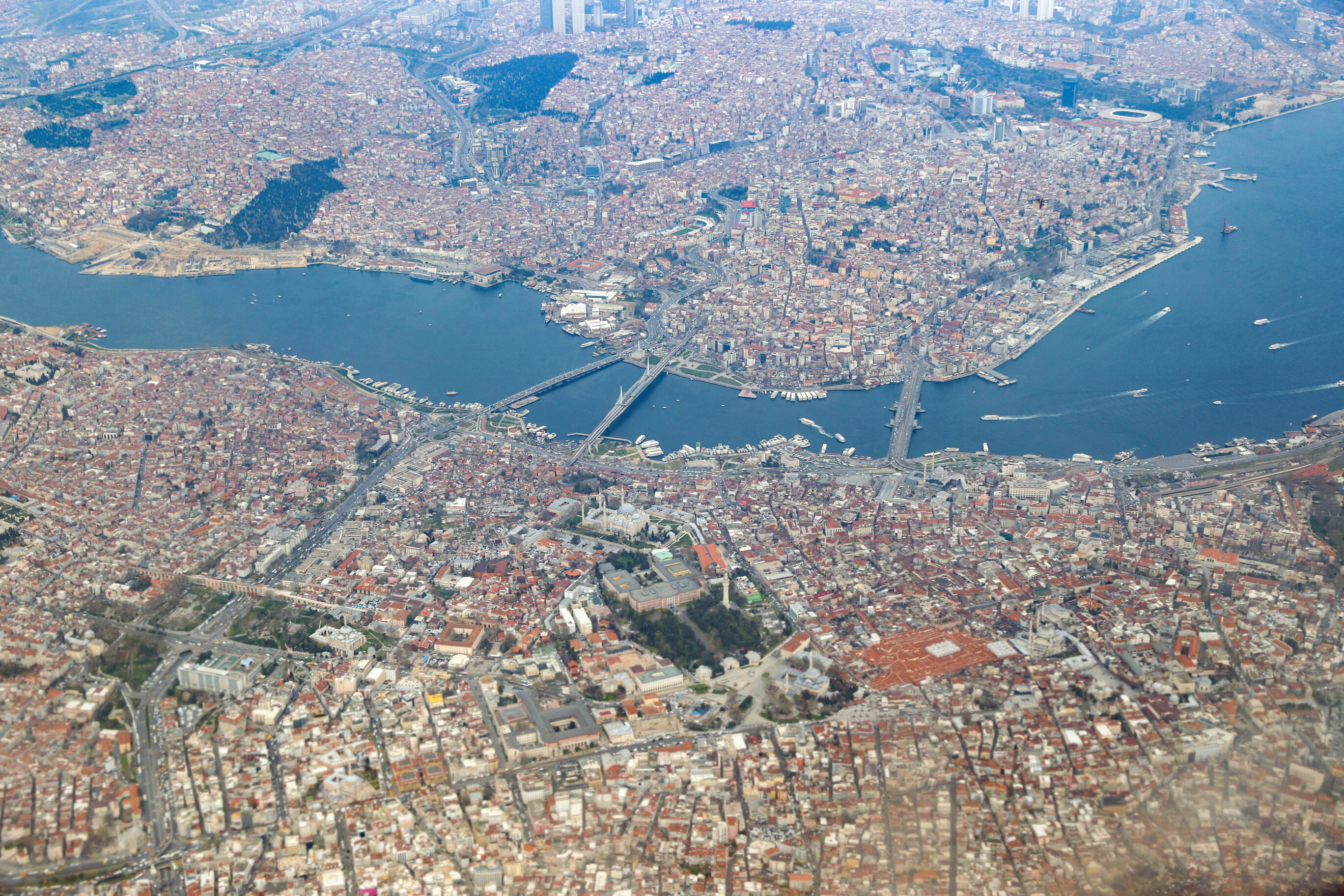 Istanbul's stunning views from above