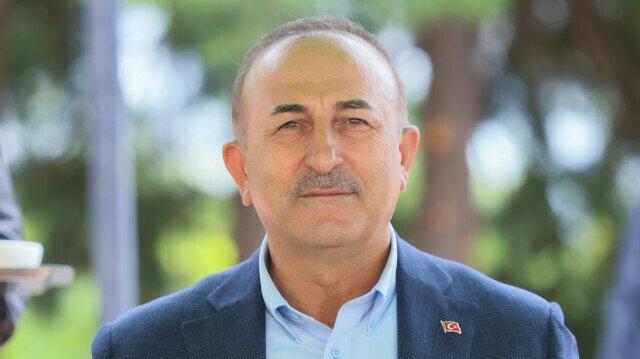 Turkish FM Cavusoglu in Greece