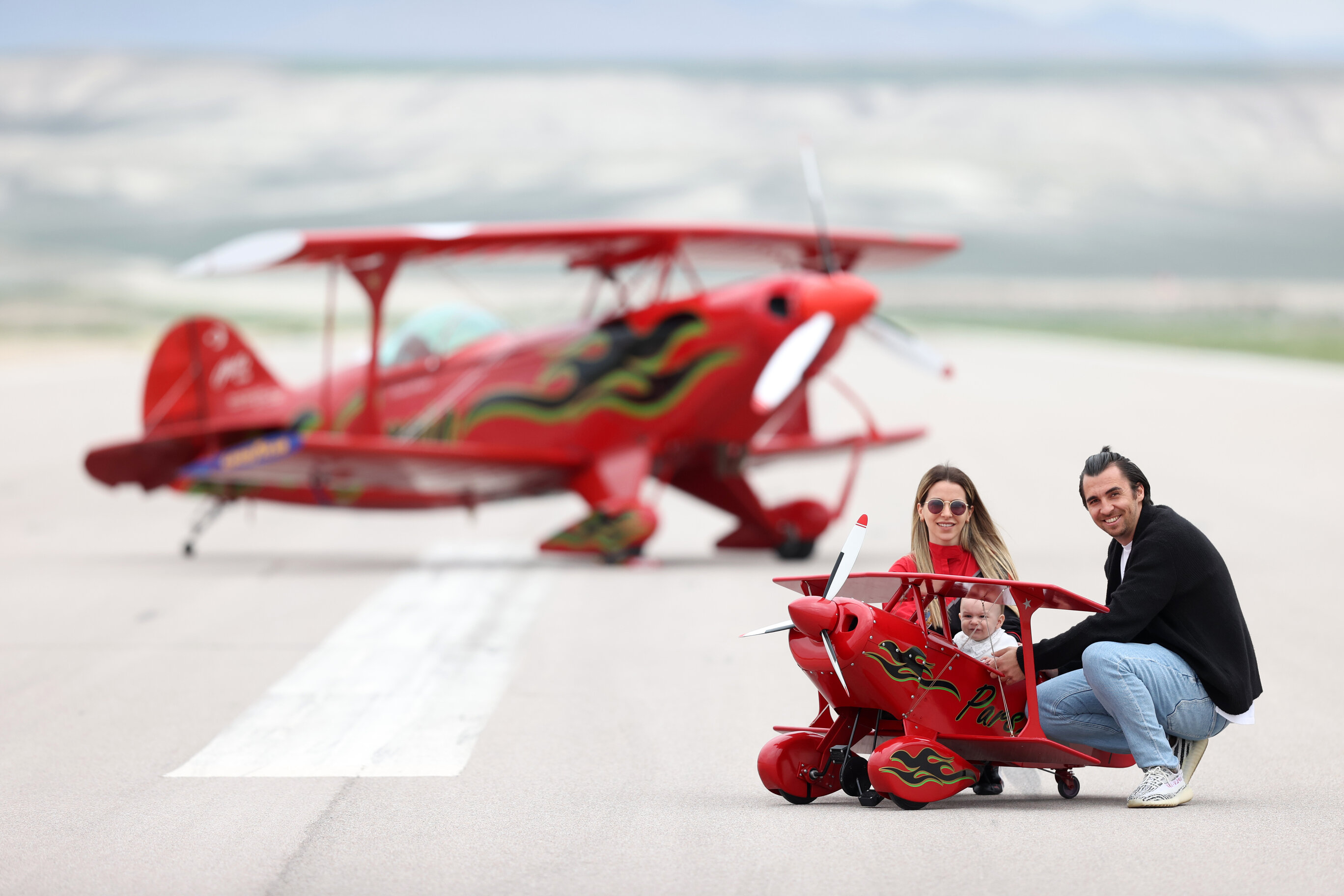 Meet Turkey's only female aerobatic pilot as she shatters glass ceilings