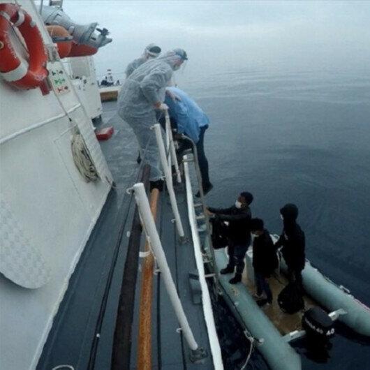 Turkey rescues 53 asylum seekers in Aegean Sea