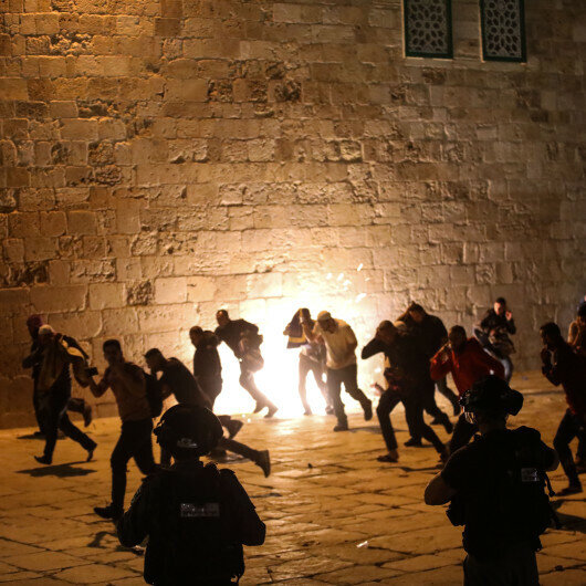 Turkey 'strongly condemns' Israeli attack at Al-Aqsa Mosque