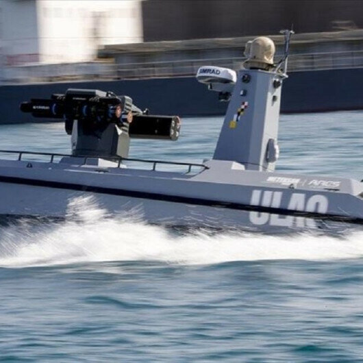 Turkey's first armed unmanned surface vessel ready to launch missile