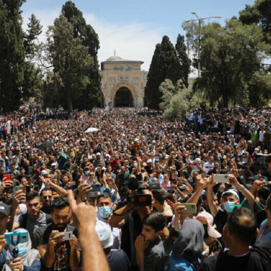 Muslim union calls for peaceful anti-Israel demonstrations