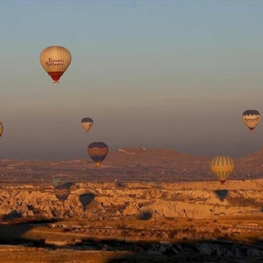 Turkey's famed Cappadocia drew over 60,000 tourists this May