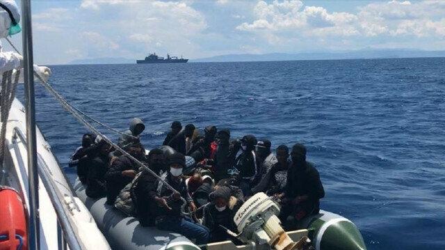 Turkey rescues 50 asylum seekers pushed back by Greece