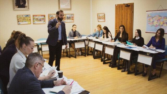 Yunus Emre Institute starts Turkish classes in Moscow