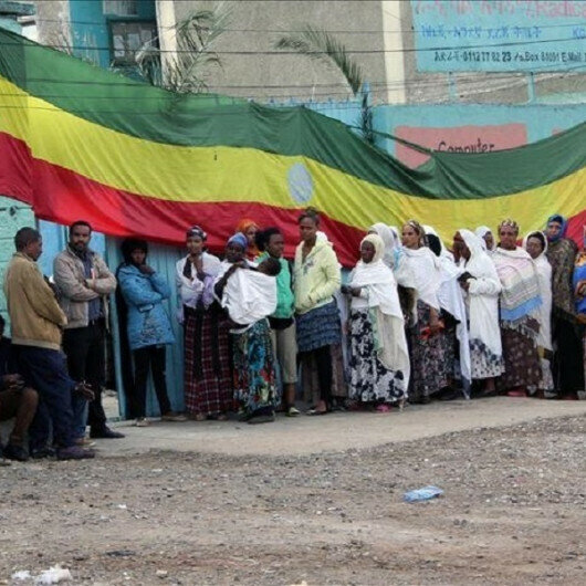 Ethiopian Premier Abiy casts ballot, says election going well