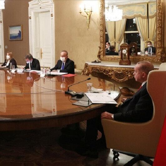 Erdogan, European Commission head discuss Turkey-EU ties