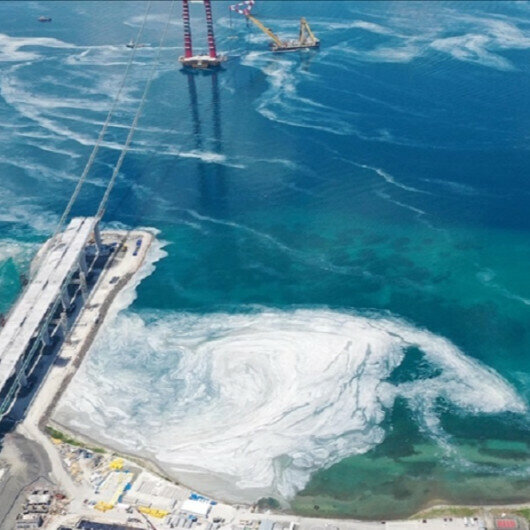 Turkey collects over 5,700 cubic meters of mucilage from sea in 15 days