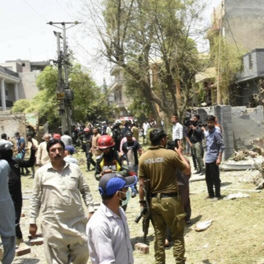 Blast kills three in city of Lahore, Pakistan