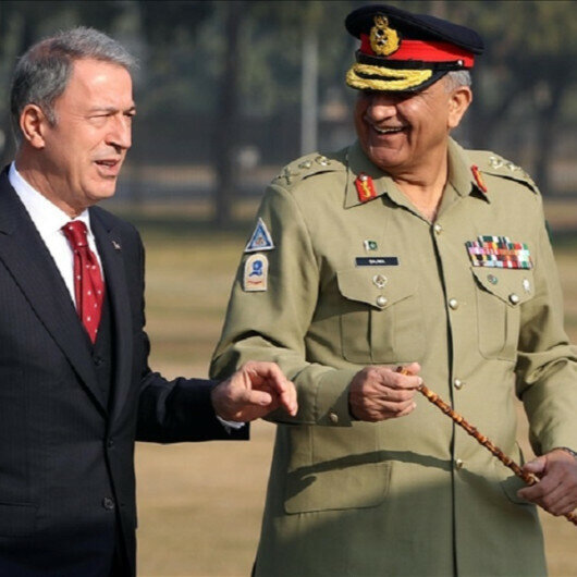 Pakistan's army chief pays official visit to Turkey