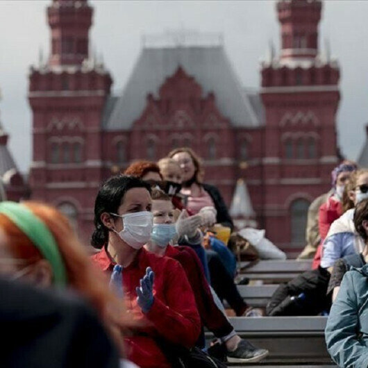 Russia adds 20,000 daily COVID cases to record highest since January
