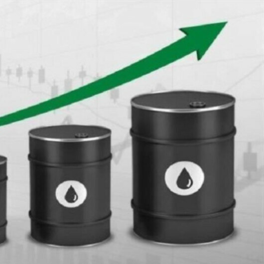 Oil prices up boosted by expected fall in US crude stocks