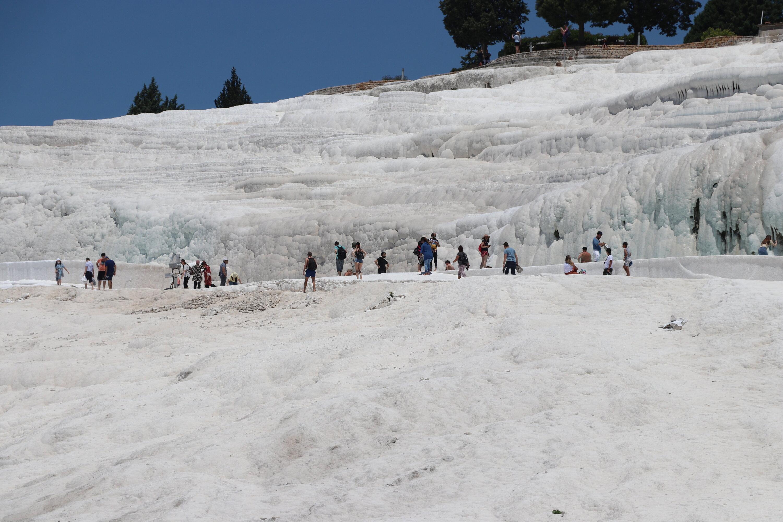 Turkey's white water wonderland welcomes visitors to Pamukkale