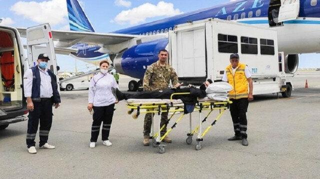 Azerbaijan sends 6 more war veterans to Turkey for medical care