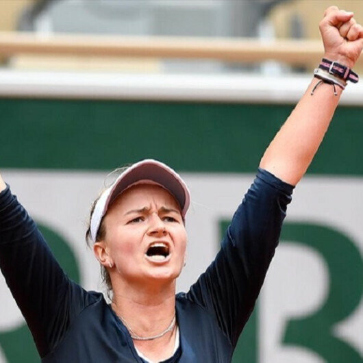 Czech tennis player Krejcikova advances to French Open semifinals