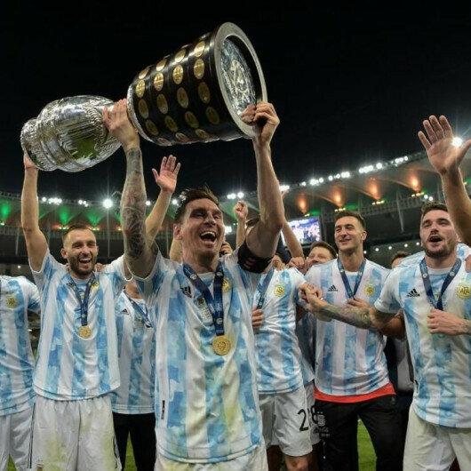 Argentina win Copa America