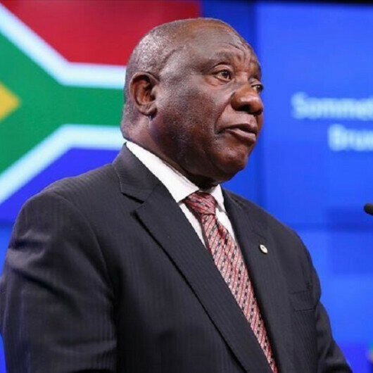 South Africa's president vows to restore calm