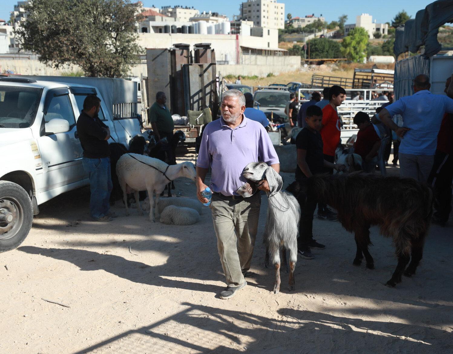Eid al-Adha preparations in West Bank