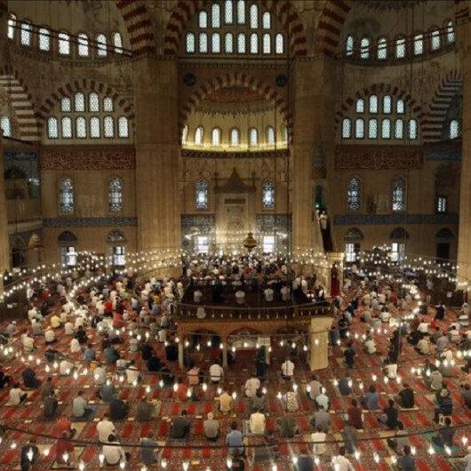 Top Turkish officials mark Muslim Eid al-Adha holiday