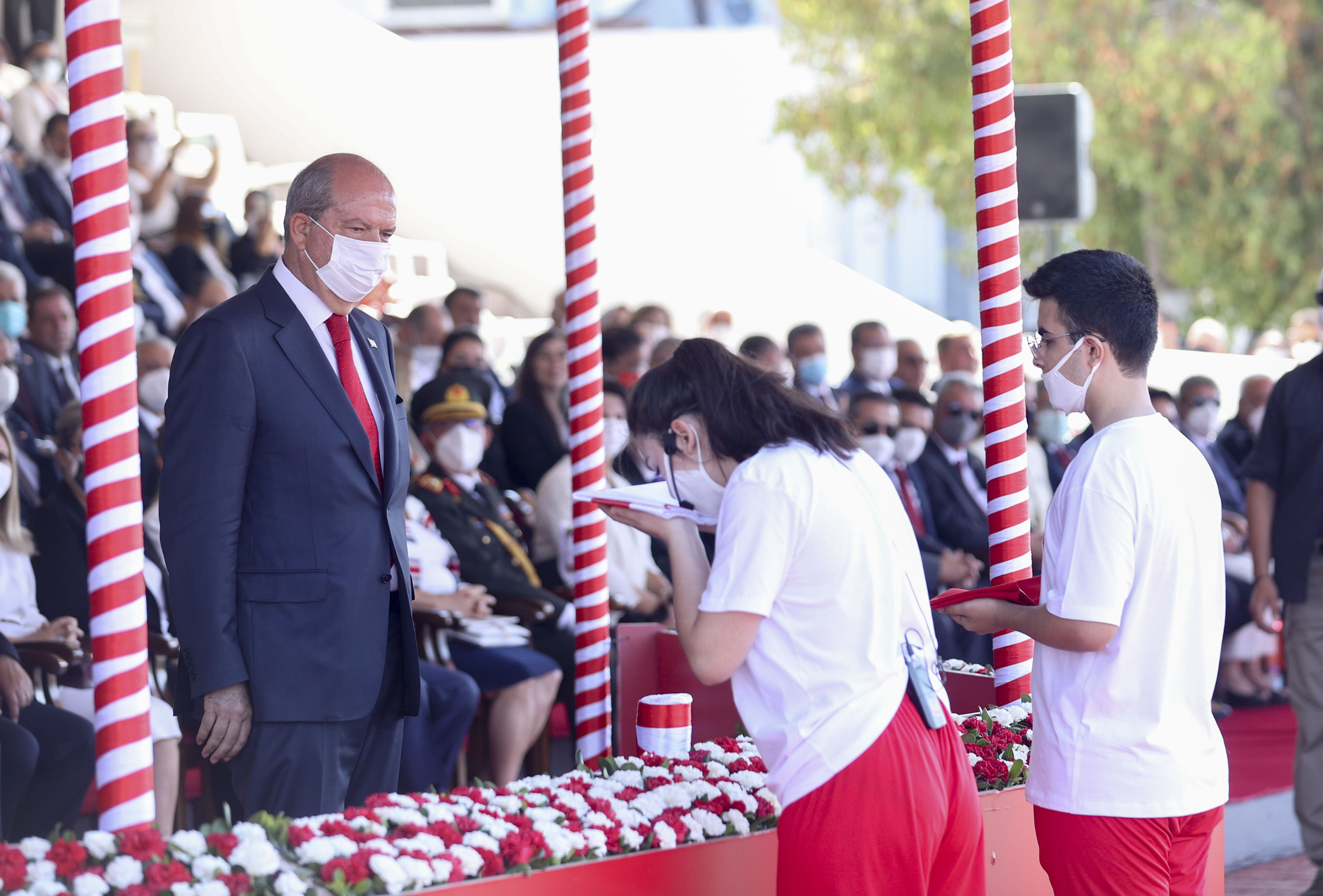 Erdogan, Tatar attend Peace and Freedom Day celebrations in TRNC