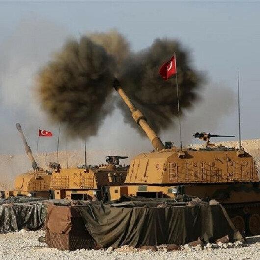 Turkey neutralizes 39 terrorists in northern Syria over past 5 days