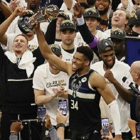 Milwaukee Bucks win their second NBA title