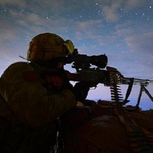 Turkey neutralizes 5 YPG/PKK terrorists in northern Syria