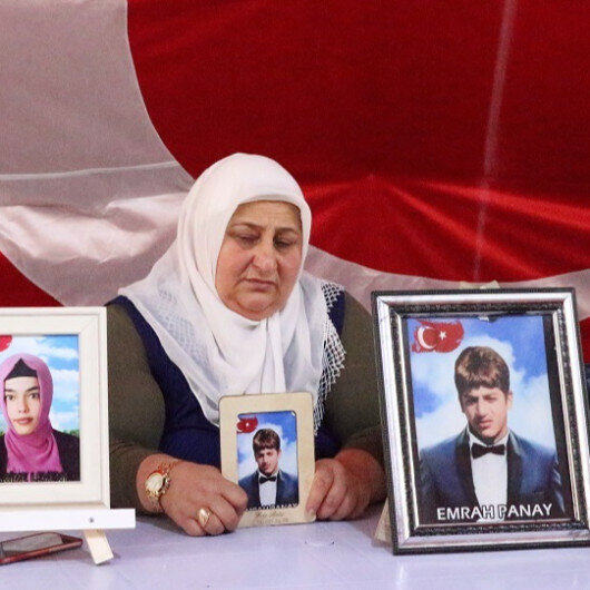 Sit-in protest families against PKK in Turkey yearn to reunite with children during Eid