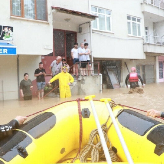 Some 200 people evacuated due to flooding in Turkish Black Sea region